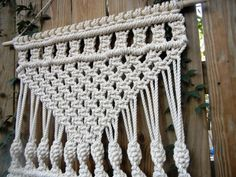 Large Macrame Wall Hanging by LieflyYours on Etsy