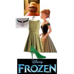 Inspired by Anna -Disney's movie- Frozen (1)