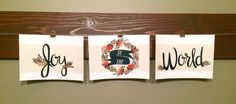 French Press Mornings - Joy To The World Banner