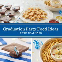 Graduation Party Food Ideas #Hallmark #HallmarkIdeas
