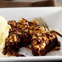 Caramel Brownies (rolos)