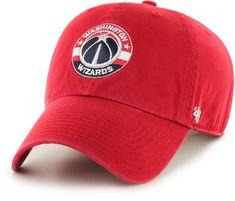 b73721087b6  47 Men s Washington Wizards Red Clean Up Adjustable Hat