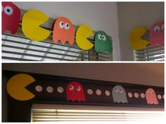 PAC-MAN party decorations