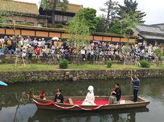 花嫁の舟流し