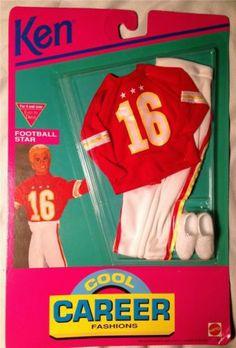 1992 Ken - Football (Cool Career) #866