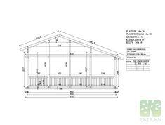 MARIA & RUI - 140,35m2 Beams, Floor Plans, Projects, Log Projects, Blue Prints