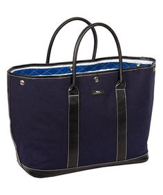 Another great find on #zulily! Navy Miss Manors Tote #zulilyfinds