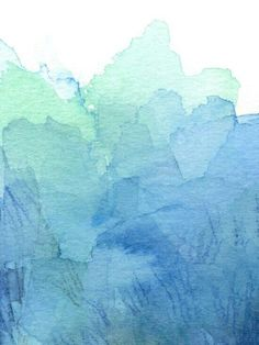 Abstract Watercolor Texture Blue Green Sea Sky Colors Art Print by olechka - Watercolor Wallpaper, Green Watercolor, Watercolor Texture, Watercolor Pattern, Texture Painting, Watercolor Background, Abstract Watercolor, Blue Abstract, Wallpaper Backgrounds