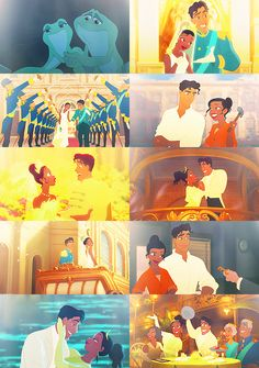 Disney Couples Challenge ❤ Day four: Last Impressions → The Princess and the Frog