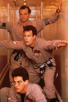 This was all that meant anything to me when I was a kid. And Egon was my hero and the coolest man in the world because he did all this and was the smartest one and wore glasses, like me. I'll always be a Ghostbuster.