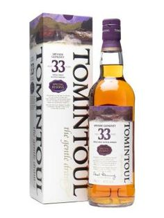 Tomintoul 33 Year Old / Special Reserve Available next for next months spirit release.