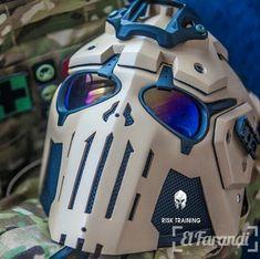 Top 15 de máscaras tácticas más brutales que no puedes dejar de ver [FOTO] - El Farandi