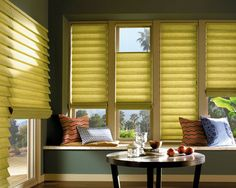 Vignette® Modern Roman shades by Hunter Douglas feature consistent folds with no exposed rear cords, keeping windows uncluttered. Superior quality modern shades for your home. Hunter Douglas Vignette, Decor, Roman Shades, Blinds, Modern Shade, Custom Window Blinds, Window Styles, Modern Roman Shades, Blinds For Windows