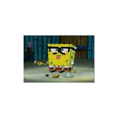 SpongeBob Pictures ❤ liked on Polyvore featuring spongebob, pictures, backgrounds, random, cartoons and filler