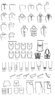 Fashion Drawing reference for writers - akoyam: pleaseinsertcoins: More scans from. - reference for writers – akoyam: pleaseinsertcoins: More scans from…