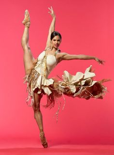 Misty Copeland - 1st African-American female soloist in 20yrs with American Ballet Theater.