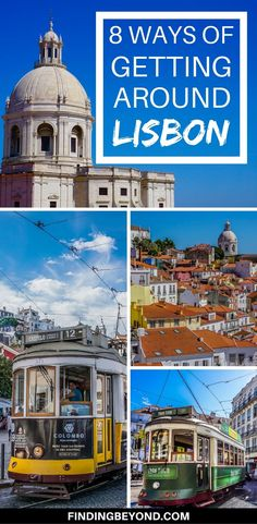 There are a number of ways of getting around Lisbon. Lisbon transport options range from historic trams to the modern metro. Check out all options here!