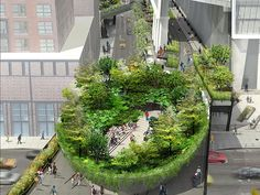 """""""Immersive Bowl-Shaped Structure"""" Proposed to be High Line's Final Gateway"""