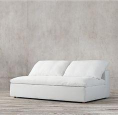 Cloud Track Arm Armless Sofa