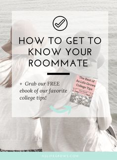 What is your biggest worry when it's time for you to head to college? For many, it is living with a roommate. Here are a few tips..