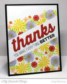 Confessions of a Ribbon Addict: MFT Stamps Friends like Us card by Jody Morrow