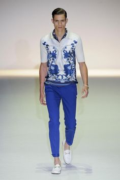 9)Great shirts.  The polo has been reinterpreted to be cooler for S/S 2013 at Gucci.