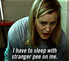 """Orange is the New Black : ~ """"I have to sleep with pee on me."""" ~ Taylor Schilling -- a. Piper Chapman """"Pics from www no copyright infringement intended. Orange Is The New Black, Orange Orange, Oitnb Quotes, Netflix Originals, The Originals, Alex And Piper, Piper Chapman, Taylor Schilling, Netflix Streaming"""