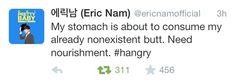 Eric Nam, ladies and gentlemen.