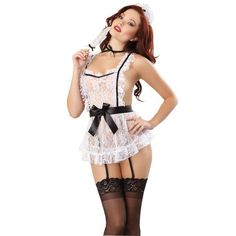 Womens Fashion Nightwear Underwear Sleepwear Babydoll Sexy Lingerie