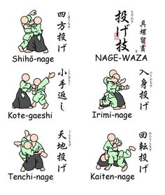 """Cute little infographic, makes irimi-nage look a lot easier than it is in practice #ohlookanotherclothesline """"Aikido"""""""