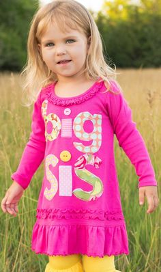 Hey, I found this really awesome Etsy listing at https://www.etsy.com/listing/156965089/long-sleeve-big-sis-tunic-big-sister-big