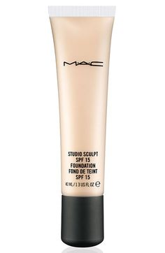 Free shipping and returns on M·A·C 'Studio Sculpt' SPF 15 Foundation at Nordstrom.com. A creamy, luxurious, gel-based foundation that provides medium buildable to high coverage with a natural satin finish. Hydrating formula instantly revitalizes the skin while keeping it looking smooth, soft and plush. Long-wearing, water-resistant.
