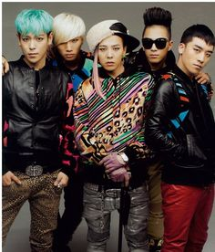 BIGBANG♥ Love their style man. So OTT, so awesome! *T.O.P and Daesung*♥