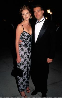 Charlize Theron with ex-boyfriend Craig Bierko