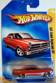 2009 Hot Wheels 031/190 '66 Ford Fairlane GT Red 1:64 by Mattel. $4.75. die cast,1/64 scale/licensed/exclusive design. 2009 Hot Wheels 031/190 '66 Ford Fairlane GT Red 1:64