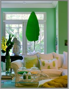 Tropical Themed Living Room Design Ideas, Pictures, Remodel and Decor