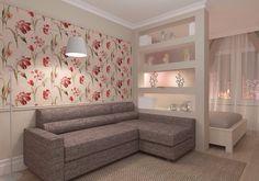 Зонирование гостиной и спальни: делаем правильно | Дизайн интерьера