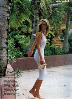 dariabessonova: US Vogue January 1992 white washedModel: Claudia SchifferPh: Marc HispardFashion Editor: Carlyne Cerf de DudzeeleHair: Troy HaltermanMakeup: Moyra Mulholland