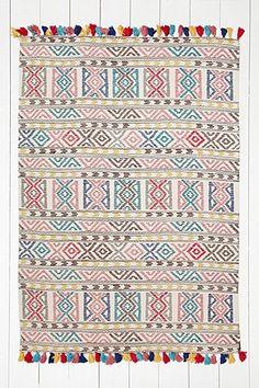 "Teppich ""Kambala"" mit Geomuster, 5 x 7 Fuß"