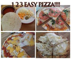 Simple Tortilla Pizzas
