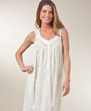 Eileen West Cotton Gown Sweet Pea Print