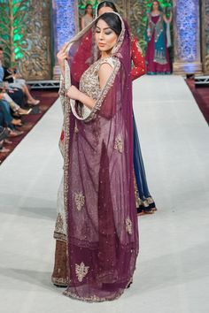 Indian Pakistani Asian Bridal Lengha Gown Outfit Al Zohaib