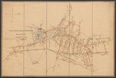 Rar K 157 Old Maps, Planer, Vintage World Maps, Diagram, Water Supply, Old Cards