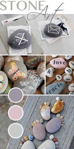 Gingered Things - DIY, Deko & Wohndesign: Kunst mit Steinen