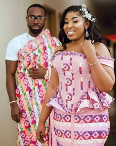 African Clothing For Men, African Dresses For Women, African Wear, African Fashion, Ootd Fashion, Fashion Dresses, Engagement Dresses, Wedding Dresses, African Traditional Wedding