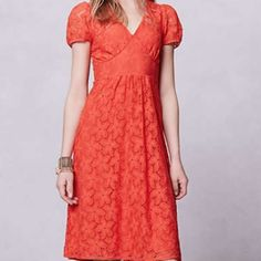 Anthropologie Dogflora Midi Dress Anthro dress - a little discoloring on the sleeve. Anthropologie Dresses Midi