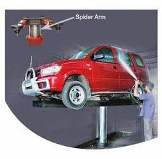 Cầu nâng 1 trụ rửa xe ô tô hay còn gọi bằng những tên khác như ben nâng rửa xe ô tô, giàn nâng rửa xe ô tô…..