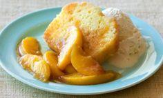 Southern Georgia Peach Pound Cake: Peach Pound Cake