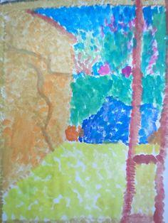 Puntinismo-La mia finestra