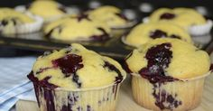 Citromhab: A(z) Muffin kifejezés keresési találatai Jacque Pepin, Cheesecake Brownies, Muffin Recipes, Winter Food, Fudge, Blueberry, Food And Drink, Sweets, Snacks